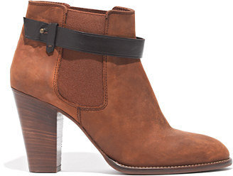 Madewell The Lonny Boot in Distressed Leather