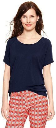 Gap Pique roll-sleeve sweatshirt