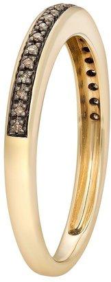 JLO by Jennifer Lopez Jlove by 10k gold 1/10-ct. t.w. champagne diamond band