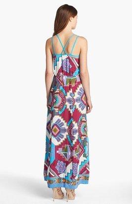 Nanette Lepore Print Maxi Dress