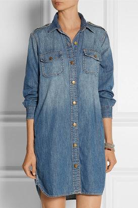 Current/Elliott The Perfect denim shirt dress