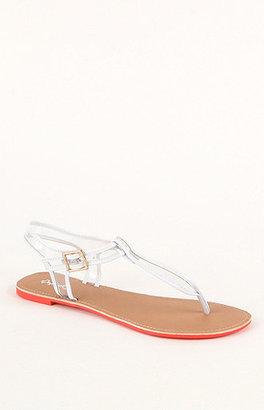 Qupid Athena Mesh Sandals