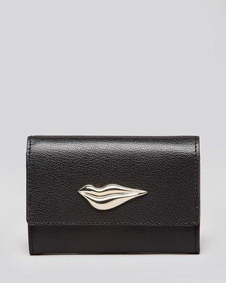 Diane von Furstenberg Card Case - Lips Leather
