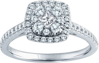 FINE JEWELRY 5/8 CT. T.W. Diamond Engagement Ring 14K Gold