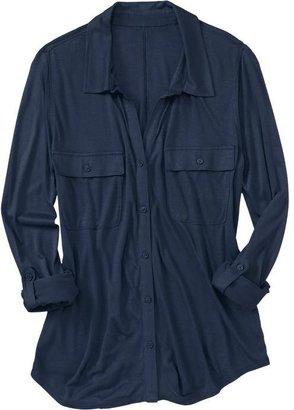 Old Navy Women's Utility-Pocket Jersey Shirts