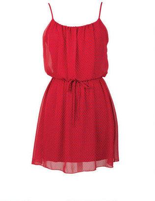 Delia's Printed Flounce Dress