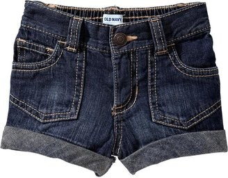 Old Navy Cuffed Denim Shorts for Baby