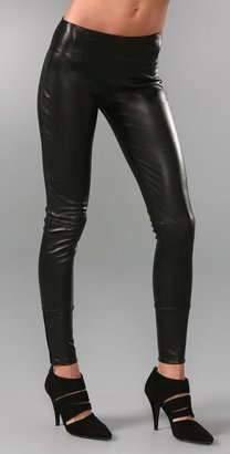 Kiki de Montparnasse Nuit Leather Leggings