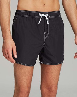 BOSS HUGO BOSS Lobster Swim Trunks $69 thestylecure.com