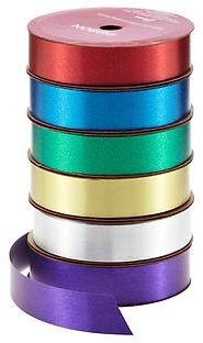 Container Store Metallic Ribbon in Assorted Colors
