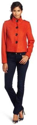 Kensie Women's Melton Jacket
