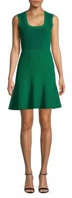 Diane von Furstenberg Ribbed A-Line Dress