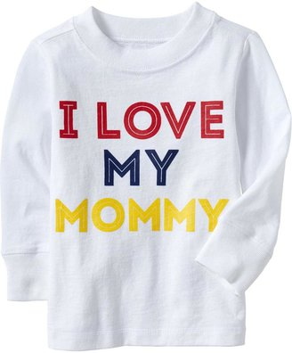 """Old Navy """"I Love My Mommy"""" Tees for Baby"""