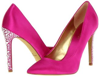 Nine West Glittering (Pink Satin) - Footwear