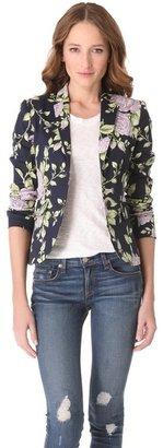 Rag and Bone Rag & bone Bailey Floral Print Jacket