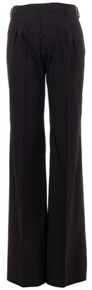 Etro Wide leg cotton trousers