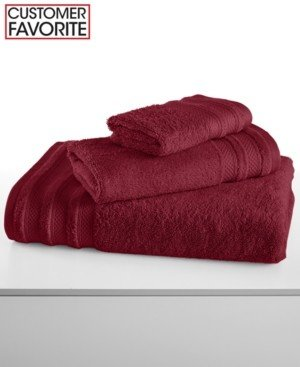 """Charter Club Closeout! Classic Pima Cotton 16"""" x 30"""" Hand Towel, Created for Macy's Bedding"""