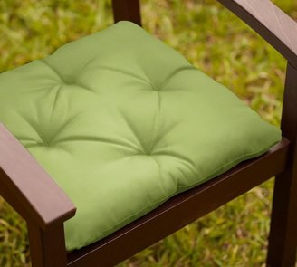 Pottery Barn Tufted Sunbrella Outdoor Dining Chair Cushion