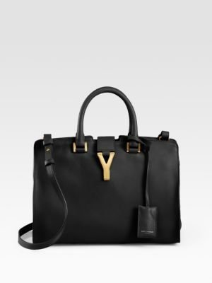 Saint Laurent Petite Y Line Top-Handle Bag