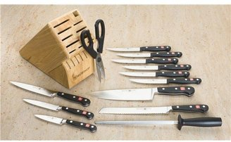 Wusthof Classic Knife Block Set - 14-Piece