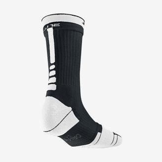 Nike Elite 2 Layer Crew Basketball Socks (Large)
