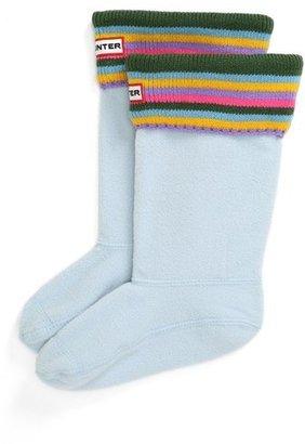 Hunter Patterned Cuff Welly Socks (Toddler, Little Kid & Big Kid)