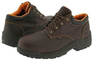 Timberland TiTAN(r) Alloy Safety Toe Oxford (Haystack Brown Oiled Full-Grain Leather) Men's Industrial Shoes
