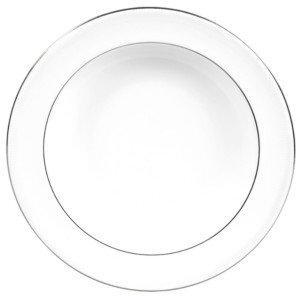 Vera Wang Wedgwood Dinnerware, Blanc sur Blanc Pasta Plate