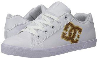 DC Chelsea SE W (White/Gold) Women's Skate Shoes