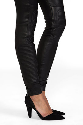 BLK DNM Leather Pant 6