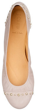 CeCe studded leather ballet flats