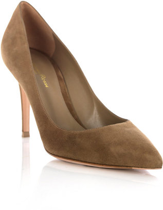 Gianvito Rossi Suede point shoes