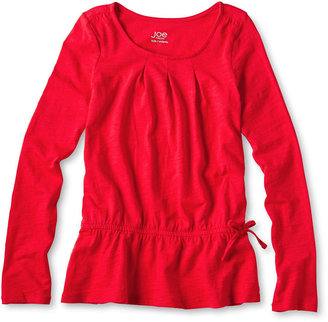 Joe Fresh Long-Sleeve Slubbed Tunic - Girls 4-14