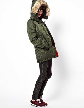 Big Chill Pop Boutique Parka Coat