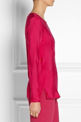 By Malene Birger Sinonah stretch-silk top