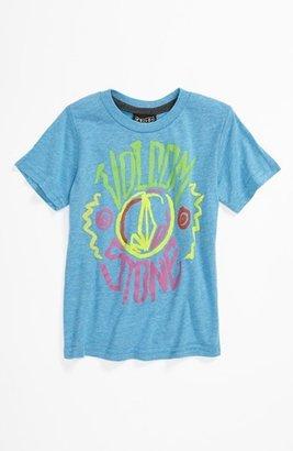 Volcom 'Livid Color' T-Shirt (Toddler) Atlantic Blue 4T