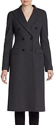 Dolce & Gabbana Virgin Wool Double-Breasted Coat