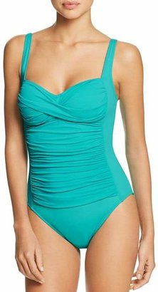 La Blanca Island Goddess Sweetheart One Piece Swimsuit