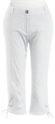 Rafaella Plus-Size Curvy Cropped Pants