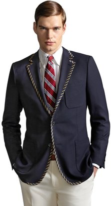 Brooks Brothers The Great Gatsby Collection Tipped Blazer