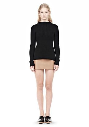 Alexander Wang Micro Mini Skirt With Exposed Dart