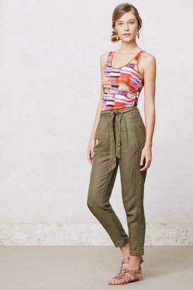 Anthropologie Tapered Effie Trousers