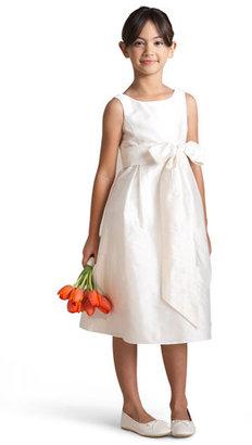 Us Angels Silk Shantung Dress (Toddler)
