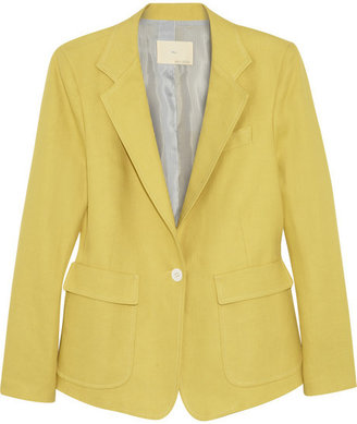 Band Of Outsiders Linen and cotton-blend twill blazer