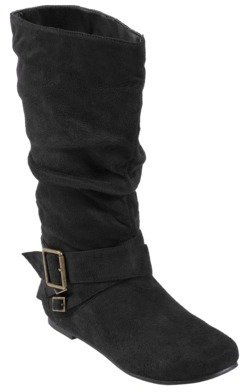 ADI Womens Glaze by Slouchy Boots with Side Accent Buckles