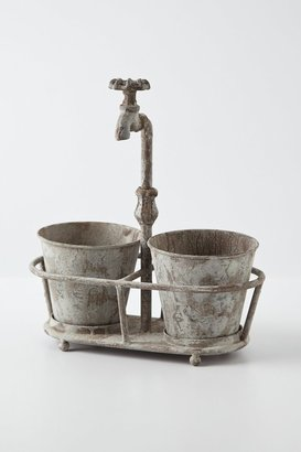 Anthropologie Waterspout Planter