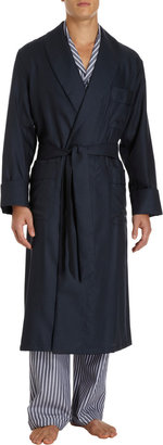 Barneys New York Twill Robe