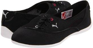Puma Motorina Nylon Wn's (Black/Raspberry Rose) - Footwear