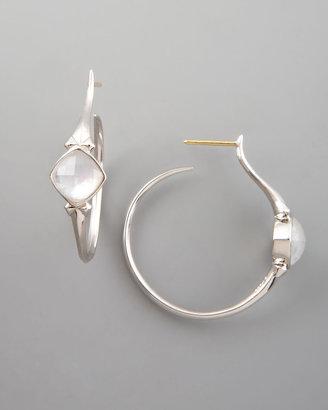 Stephen Webster Crystal Superstud Hoop Earrings, Small