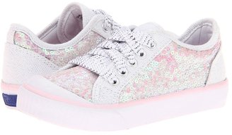 Keds Kids - Glamerly LTT (Toddler/Little Kid) (White Iridescent) - Footwear